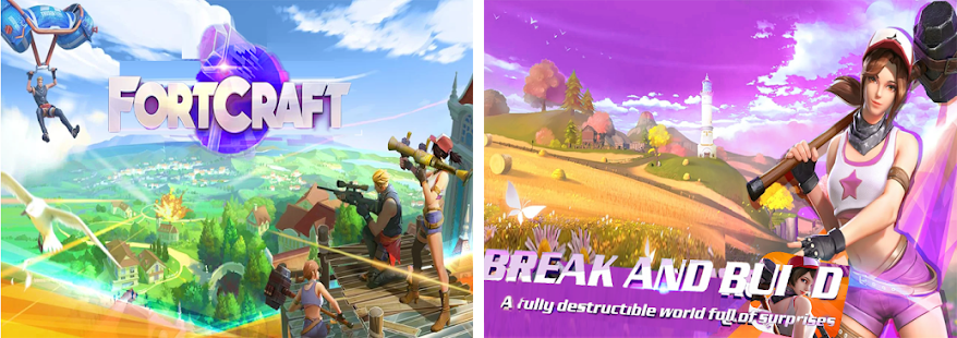FortCraft: A Sandbox Survival Game on Mobile
