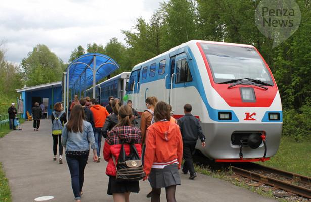 ВПензе 25маяначнет работу детская железная дорога