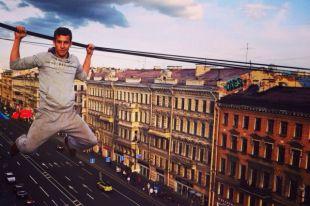 ВЧили задержали руфера изПетербурга, покорившего 22-этажный банк