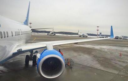 УA320 в«Шереметьево» перед взлетом началась утечка топлива
