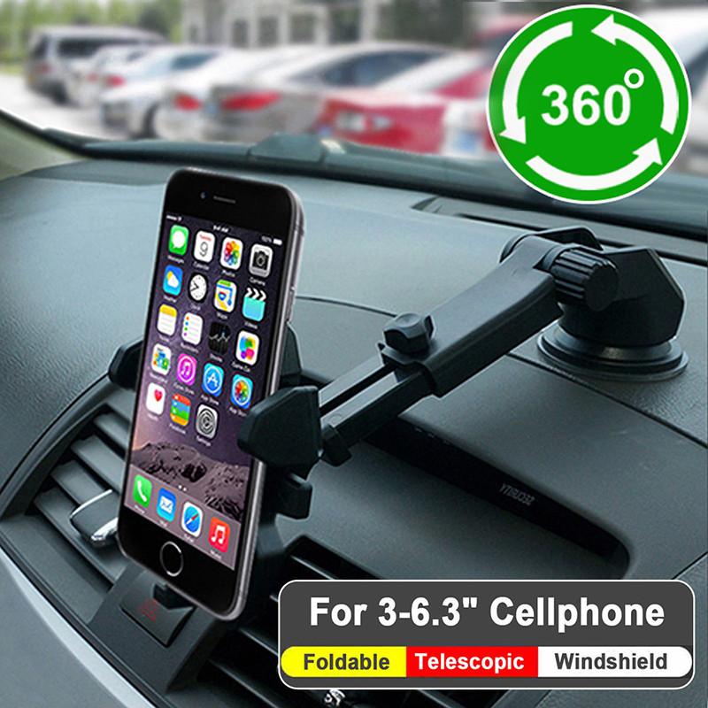 Автомобильный держатель для смартфонов алиэкспресс
