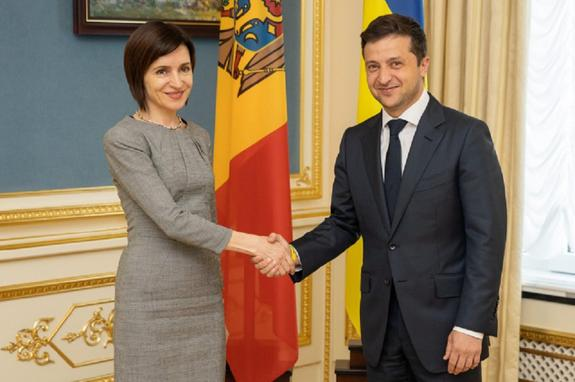 НаУкраине занялись подготовкой квизиту нового президента Молдавии