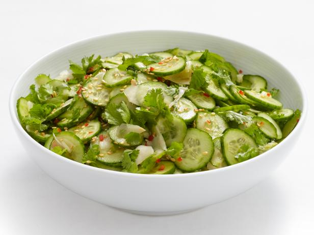 Asian cucumber salad recipe food network kitchen food network forumfinder Image collections