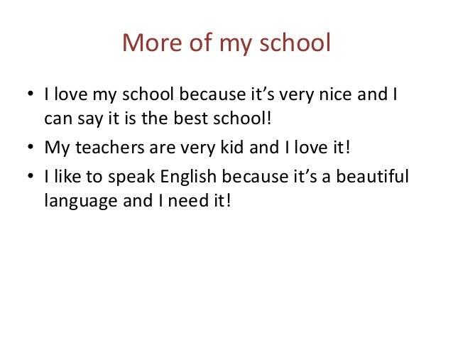 Free school essays in english