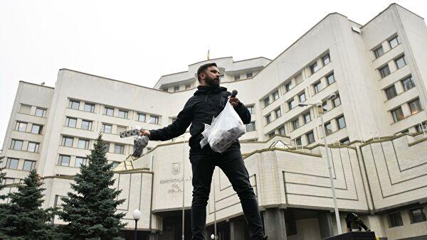 Против судей КСУкраины возбудили дело озахвате власти