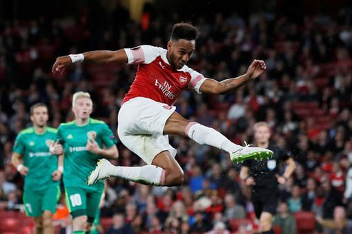 «Арсенал» обыграл «Рапид» в матче Лиги Европы