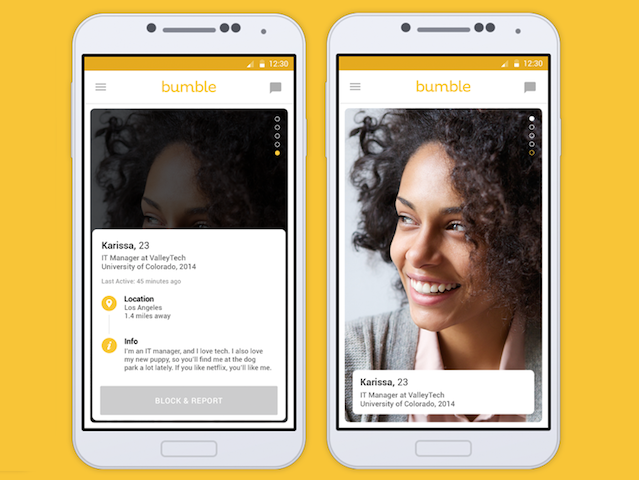 How old is bumble dating app