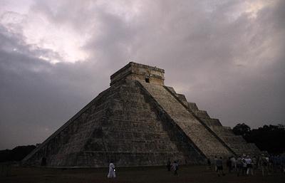 Ученые отыскали пирамиду внутри пирамиды вМексике