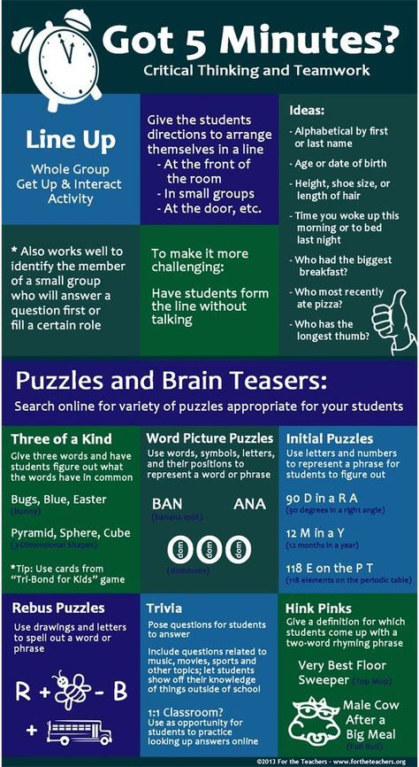 Critical thinking activities for students