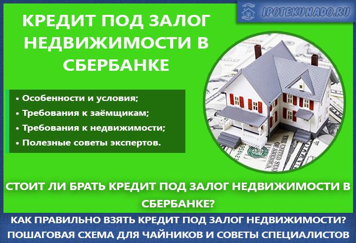 Займ под залог недвижимости в анапе