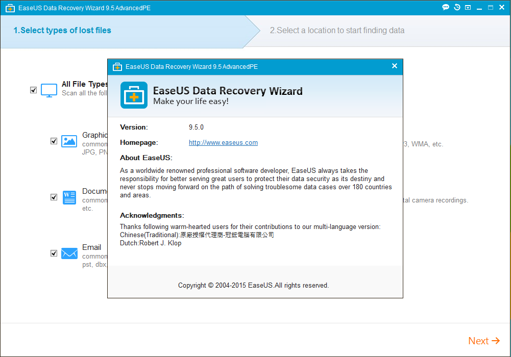 EaseUS Data Recovery Wizard 1190 Crack is Here !