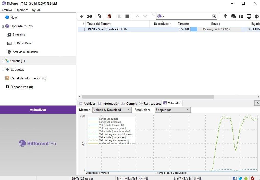 Bittorrent download - SourceForgenet
