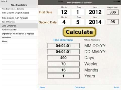 Free Time Card Calculator - TimeClick - Employee Time