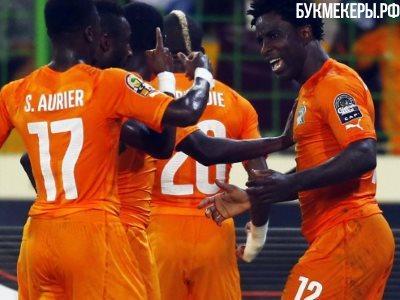 Сборная Кот-д'Ивуара пофутболу победила команду Мали вматче квалификации ЧМ-2018
