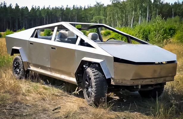 Воронежский Tesla Cybertruck безднища истёкол испытали бездорожьем