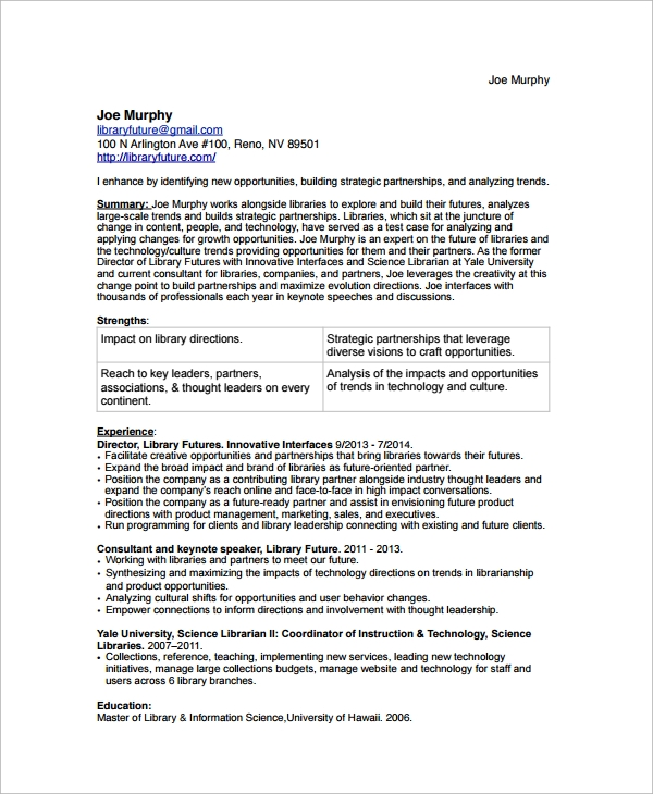 librarian resume sample resume librarian position resume resume format examples and functional resume functional resume sample resume librarian position - Library Resume Sample