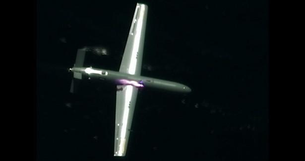 Навидео показали уничтожение беспилотника мощнейшим лазером