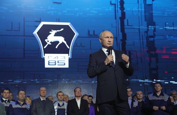 Владимир Путин иконец Смутного времени