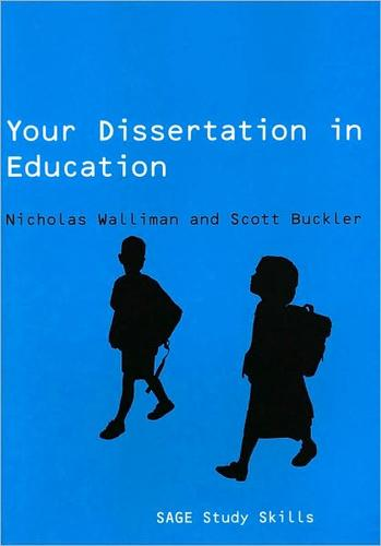 Nicholas walliman your undergraduate dissertation