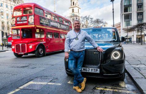 Новый лондонский кэб— уженамаршруте