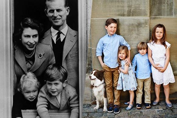 7многодетных королевских семей