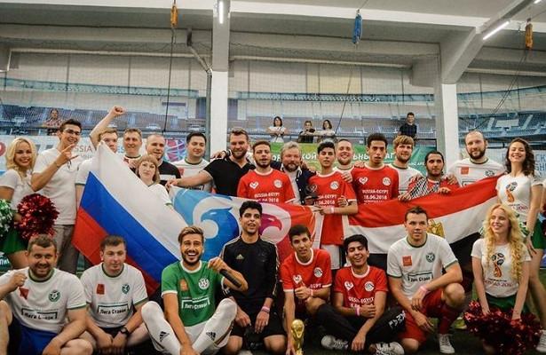 Сборная БК«Лига Ставок» VSсборная болельщиков Египта: яркий финал