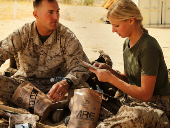 Pros of dating a marine