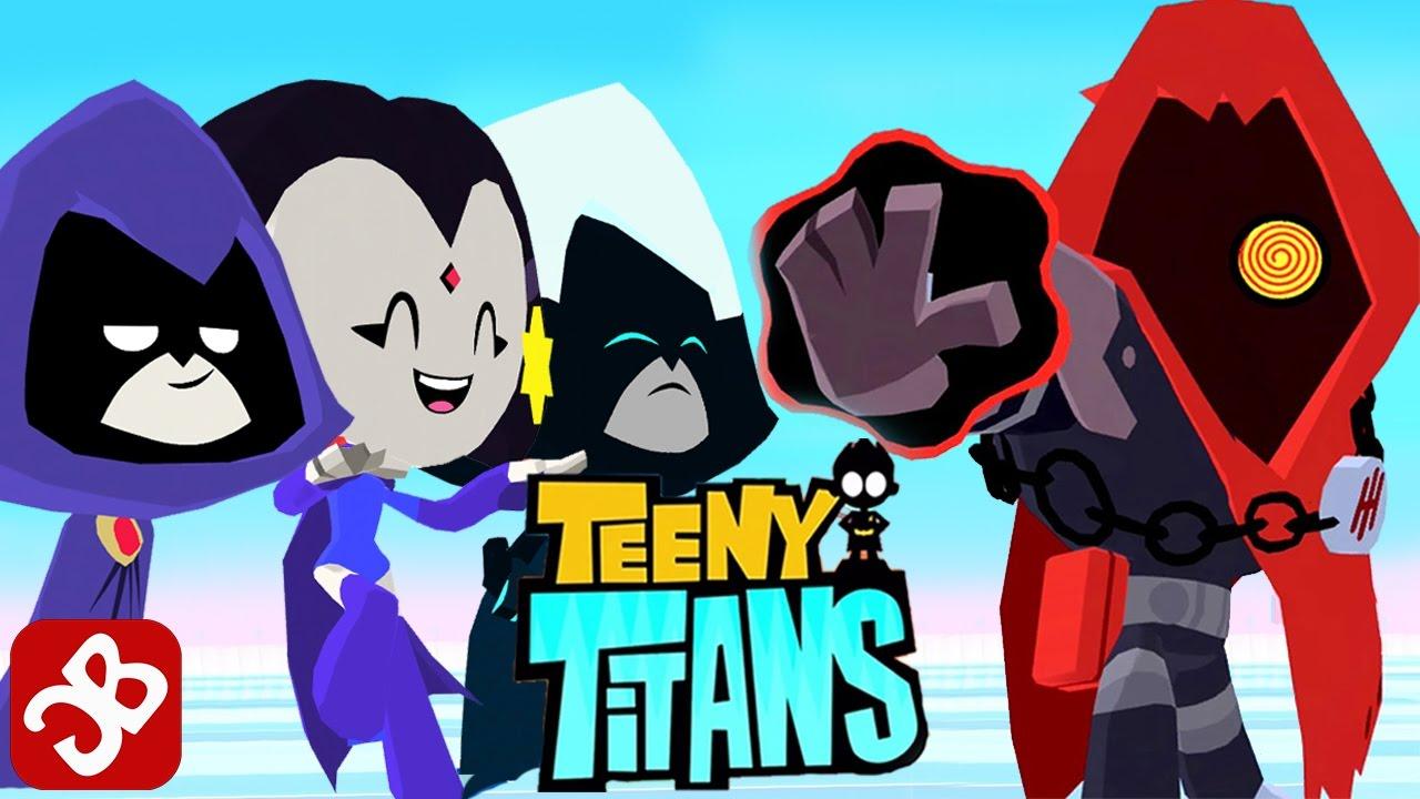 Teen titans raven toy