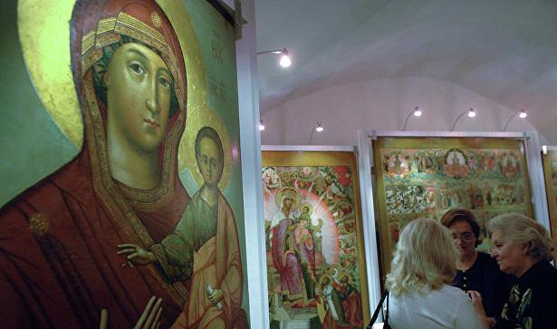 Россия вернула иконы измузея американского коллекционера