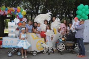ВПерми прошёл красочный парад детских колясок