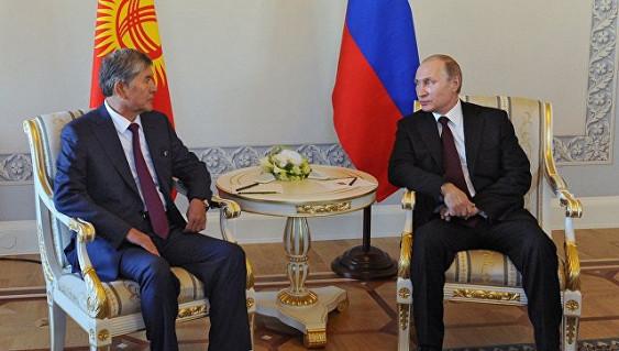 Путин примет участие всаммите СНГ вБишкеке
