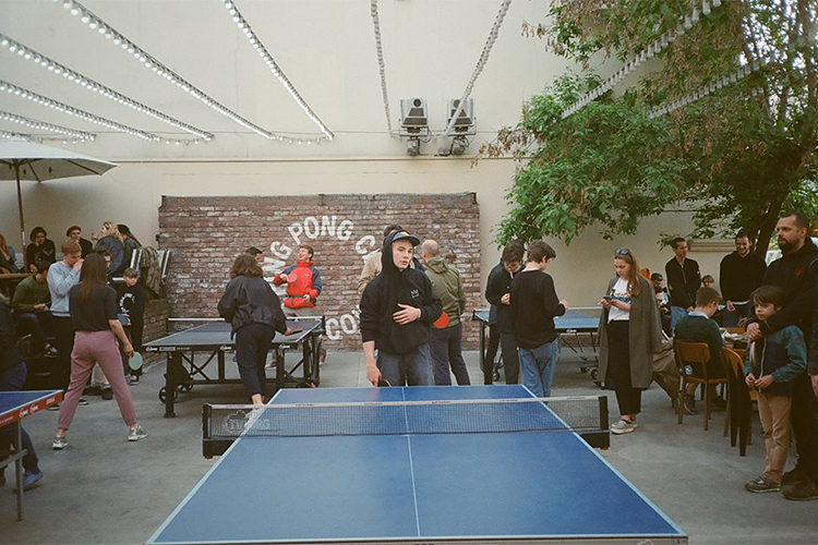 Клуб пинг понг в москве ночной клуб в валдае