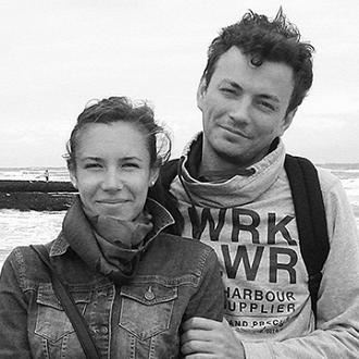 Кира Санникова, 31 год, и Андрей Крывонис, 33 года