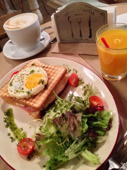Ресторан Amici - фотография 2 - Крок мадам