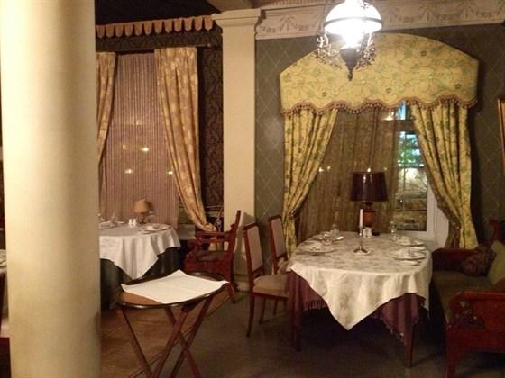 Ресторан Обломов на Пресне - фотография 3 - Гостиная