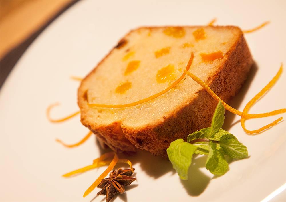 Ресторан Le bouchon café - фотография 5 - Кекс