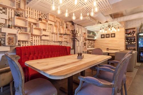 Ресторан Пироги, вино и гусь - фотография 6 - интерьер