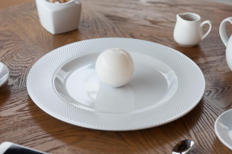 """Ресторан Henry - фотография 7 - Десерт """"Волшебный шар"""""""