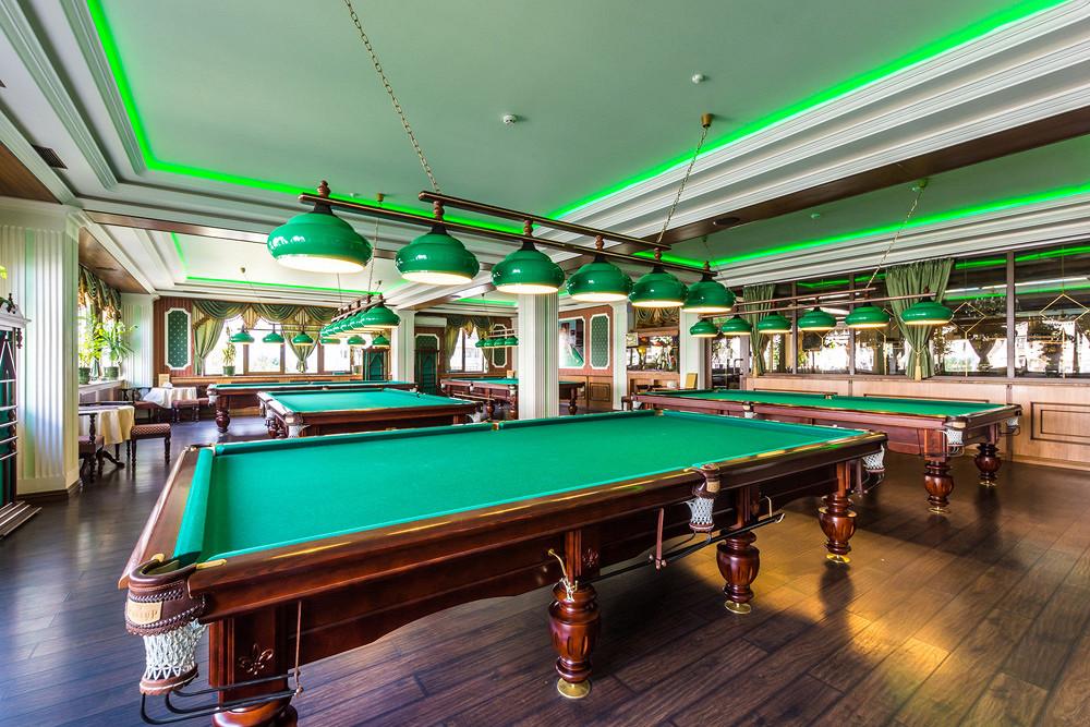 Ресторан Грин-палас - фотография 10 - Зал русского бильярда