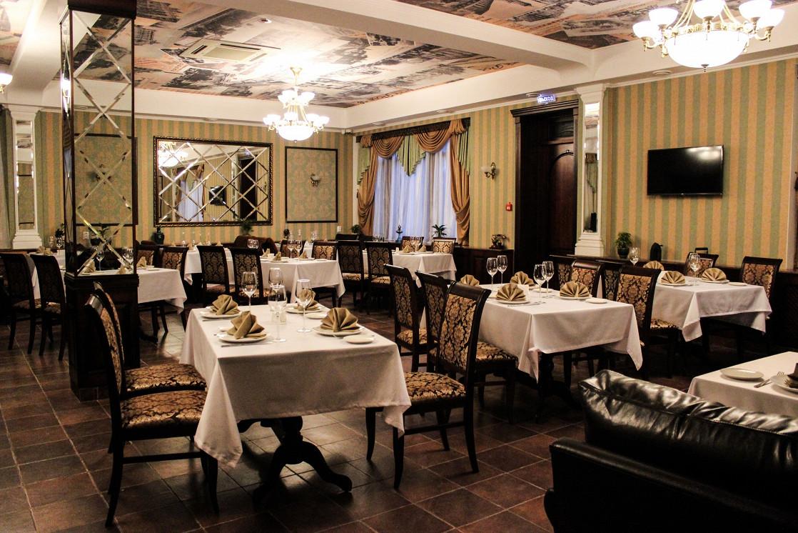 Ресторан Ростов-папа - фотография 1 - Основный зал ресторана Ростов Папа