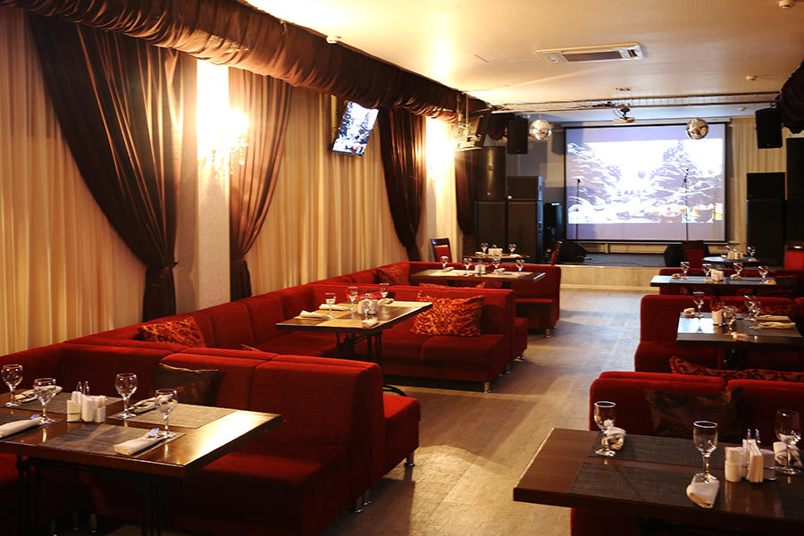 Ресторан Музпаб - фотография 4 - Караоке зал