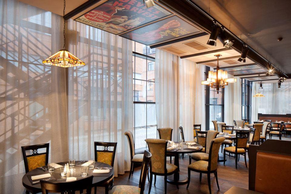 Ресторан Mary Jane - фотография 7 - Каминный зал