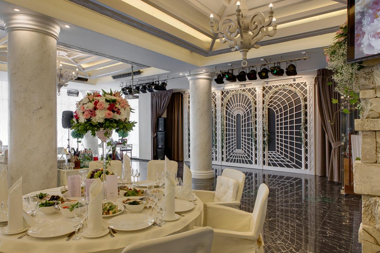 Ресторан Бульвар - фотография 10 - Колонный зал