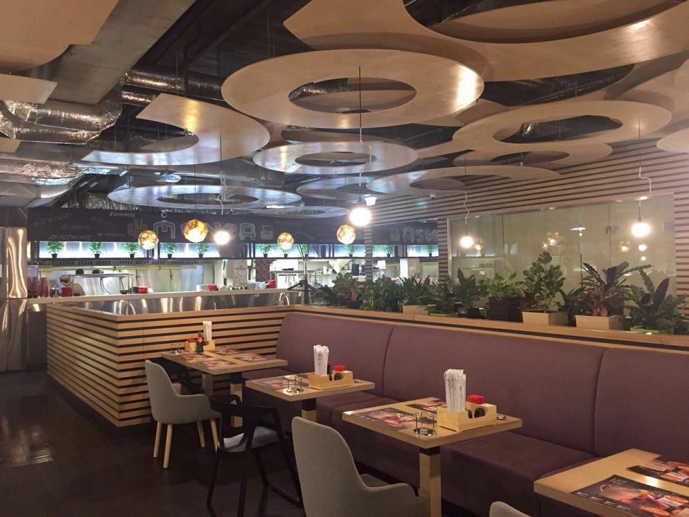 Ресторан Menza - фотография 1 - Основной зал