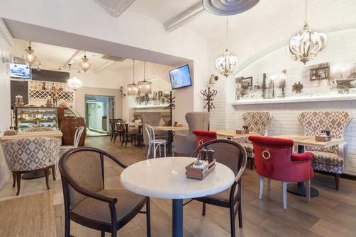 Ресторан Пироги, вино и гусь - фотография 8 - интерьеры