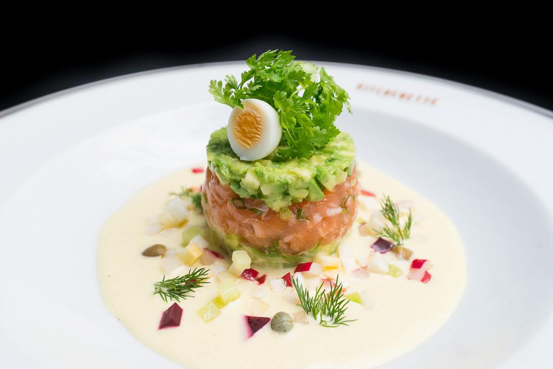 Ресторан Kitchenette - фотография 8 - Тартар из лосося