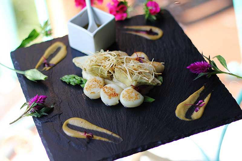 Ресторан Château de fleurs - фотография 21
