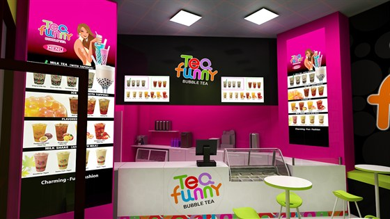 Ресторан Tea Funny - фотография 1 - Tea Funny Bubble Tea
