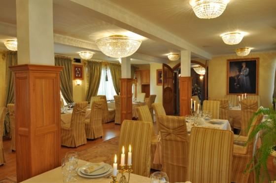 Ресторан Императрица - фотография 4 - Каминная