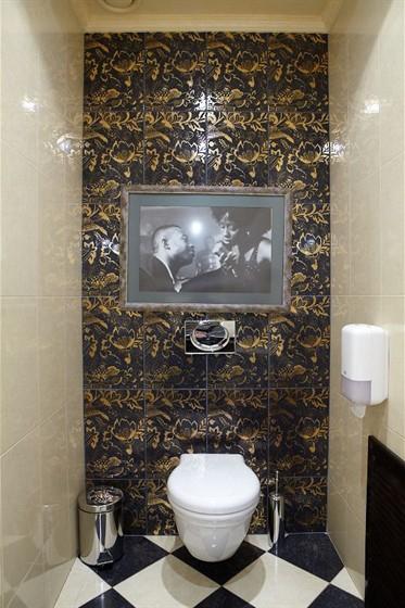 Ресторан Mon Сafe - фотография 10 - Туалетная комната (М)